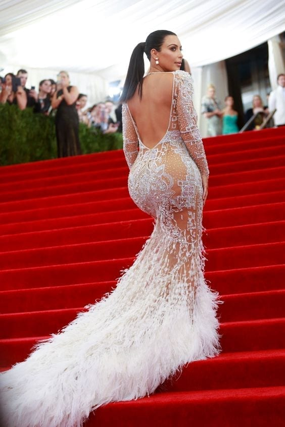 Mandatory Credit: Photo by Erik Pendzich/REX_Shutterstock (4743880fm) Kim Kardashian Costume Institute Gala Benefit celebrating China: Through the Looking Glass, Metropolitan Museum of Art, New York, America - 04 May 2015, kim kardashian met gala 2015, worst dressed met gala, look più brutti met gala, i peggio vestiti sul red carpet, theladycracy.it, elisa bellino, culone kardashian, abito kim kardashian met ball, met gala 2016