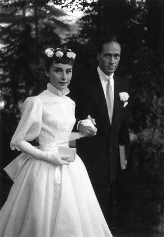 Audrey Hepburn wedding dress, abiti da sposa più belli di sempre, best weeding dress of ever, eleonora carisi sposa, eleonora carisi matrimonio, theladycracy.it, elisa bellino, fashion blog 2016, fashion blogger famose 2016, fashion blogger italia 2016, fashion blogger italiane, fashion bloggers 2016,