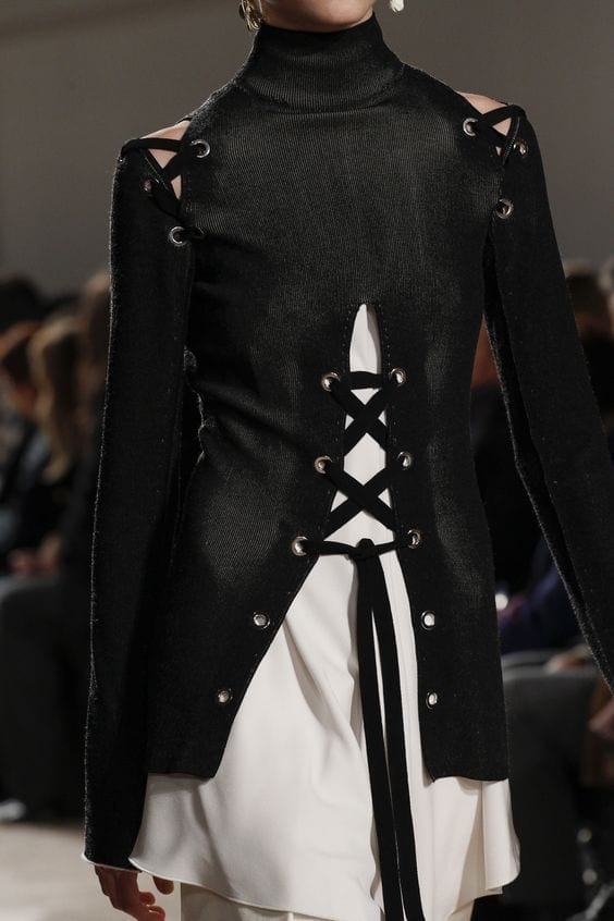 proenza schouler fw 2016,Alexander mcqueen fall 2016, fetish moda 2016, theladycracy.it, elisa bellino, fashion blog 2016, fashion blogger 2016, fashion blogger italiane, fashion blogger famose, fetish trend 2016, bondage 2016,
