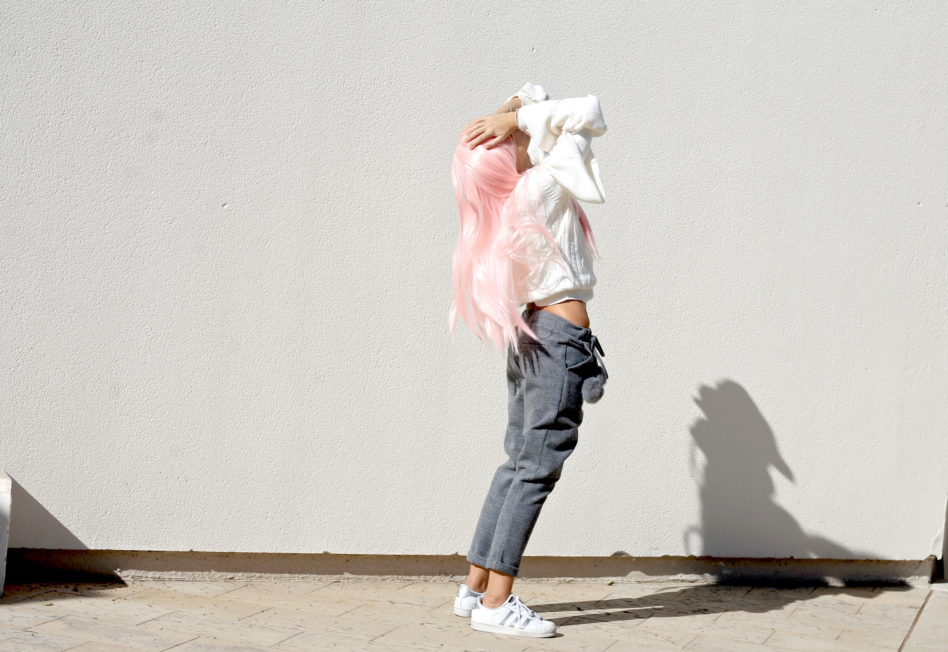 successo fast fashion, manga style blogger, capelli rosa blogger moda, casual chic look autunno inverno 2016, casual chic outfit blogger fall winter 2016, theladycracy.it, elisa bellino, fashion blogger instagram 2016, fashion blogger famose 2016, fashion italiane famose 2016, fashion blogger più seguite 2016, fashion blog 2016, fashion blogger italia 2016, fashion blogger outfit autunno inverno 2016, fashion blogger milano 2016, i love friday outfit, i love friday clothes, sporty chic outfit fall winter 2016, sporty chic look fall 2016, sporty chic blogger 2016,