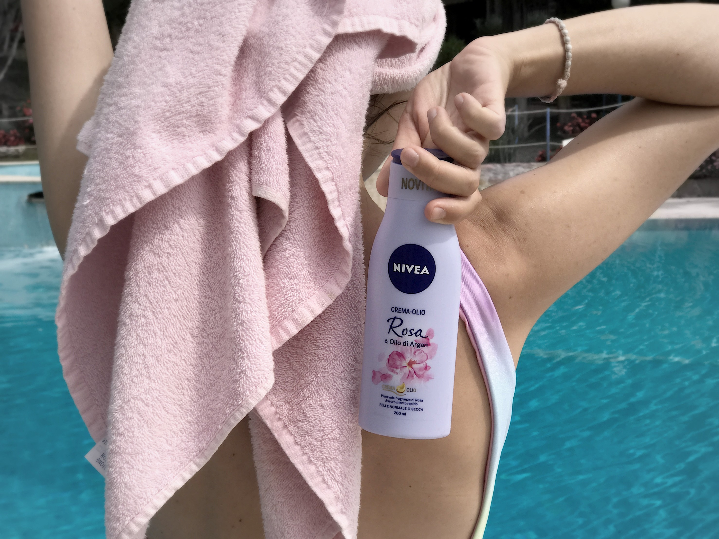 nivea crema-olio, theladycracy.it, elisa bellino, fashion blog italia, nivea crema olio rosa, fashion blogger italia, blogger moda, blog moda,