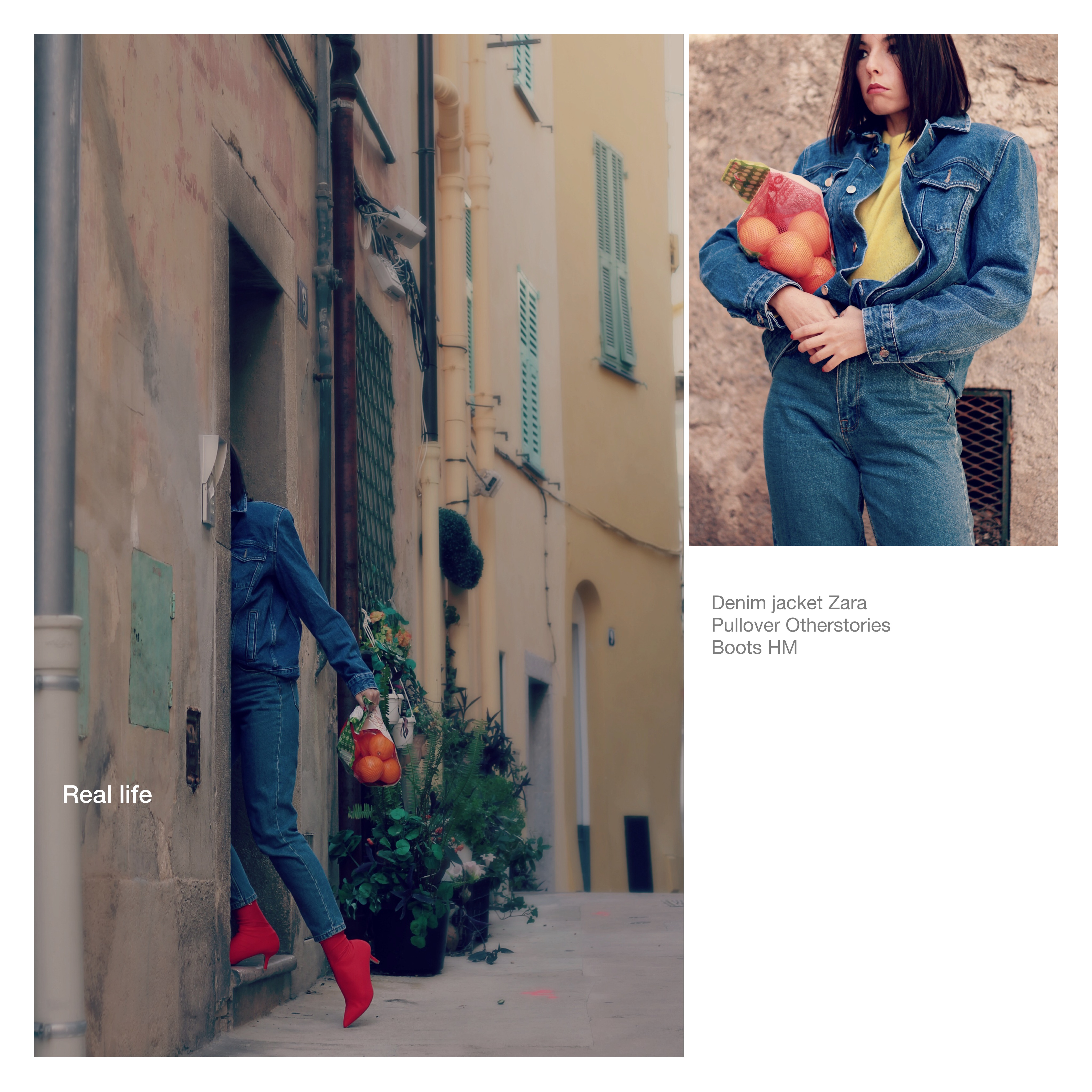 la moda oggi, theladycracy.it, fashion blogger milano 2018, fashion blogger famose 2018, fashion blogger più seguite 2018, blogger moda 2018, blogger moda più seguite instagram 2018, elisa bellino, giacca denim zara, stivali calza hm, maglione otherstories, come vestirsi inverno oggi, come vestirsi casual chic inverno, perché la moda è brutta, perché il brutto piace nella moda, il brutto nella moda, stile anni 80 outfit moda