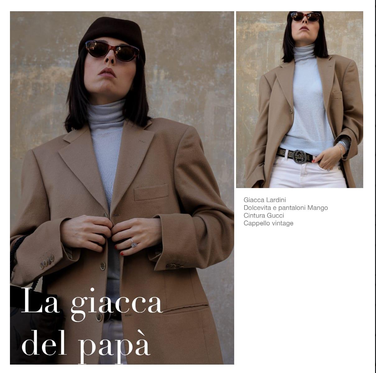 moda 2018, outfit moda 2018, tendenze moda 2018, power suit 2018, come indossare giacca uomo, outfit stile anni 80, blogger moda 2018, blogger moda italiane 2018, fashion blogger italialiane 2018, blogger milano 2018, elisa bellino, cintura gucci vintage