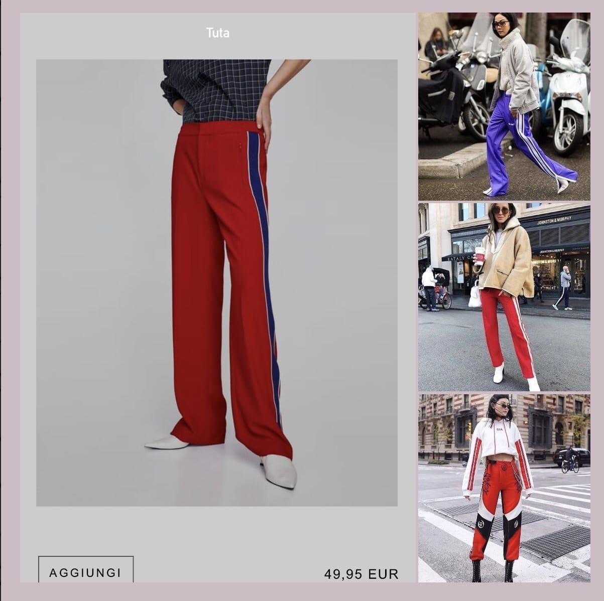 Febbraio 2018, cosa comprare zara adesso 2018, nuovi arrivi zara 2018, cosa va di moda adesso, cosa mi metto domani, come vestirsi aperitivo milano, marsupio come si mette, come indossare il marsupio, marsupio zara, theladycracy.it, elisa bellino, fashion blogger italia 2018, blogger italiane più seguite 2018, street style outfit 2018, tendenze moda 2018, tendenze moda primavera 2018, tailleur pastello zara 2018, come indossare pantaloni tuta,