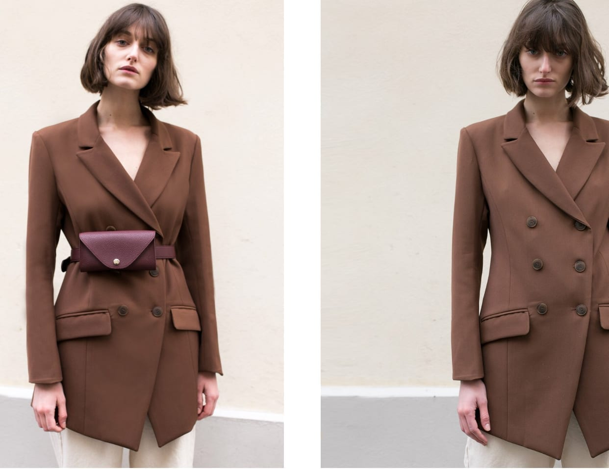 Vestirsi di marrone, brown aesthetic, theladycracy.it, abbinare marrone, colori tendenza 2018, blogger moda più seguite 2018, elisa bellino, fashion blogger italiane 2018, idee outfit blogger, instagram trend 2018, frankie shop blazer