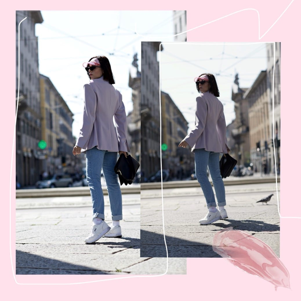Moda sostenibile, theladycracy.it, elisa bellino, fashion blogger italiane 2018, fashion blogger instagram 2018, outfit primavera 2018 blogger, occhiali zara 2018, occhiali anni 80 donna, giacca anni 80 moda 2018, tendenze moda primavera estate 2018, come mi vesto primavera 2018, come vestirsi sportive chic 2018, blogge moda italiane 2018