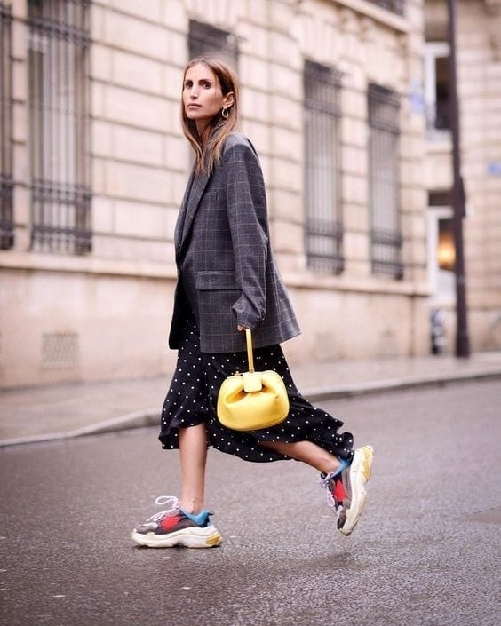 Scarpe 2018 di tendenza, sneakers 2018, sneakers moda donna 2018, theladycracy.it, elisa bellino, blogger moda 2018, fashion blogger italiane 2018, balenciaga triple s 2018