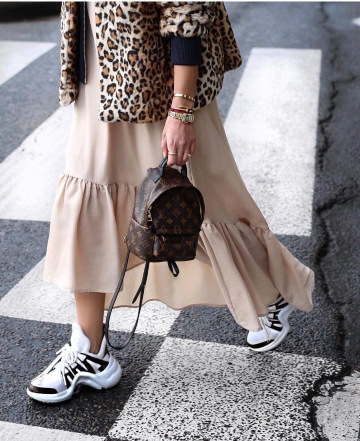 Scarpe 2018 di tendenza, sneakers 2018, sneakers moda donna 2018, theladycracy.it, elisa bellino, blogger moda 2018, fashion blogger italiane 2018, scarpe louis vuitton 2018 zeppa