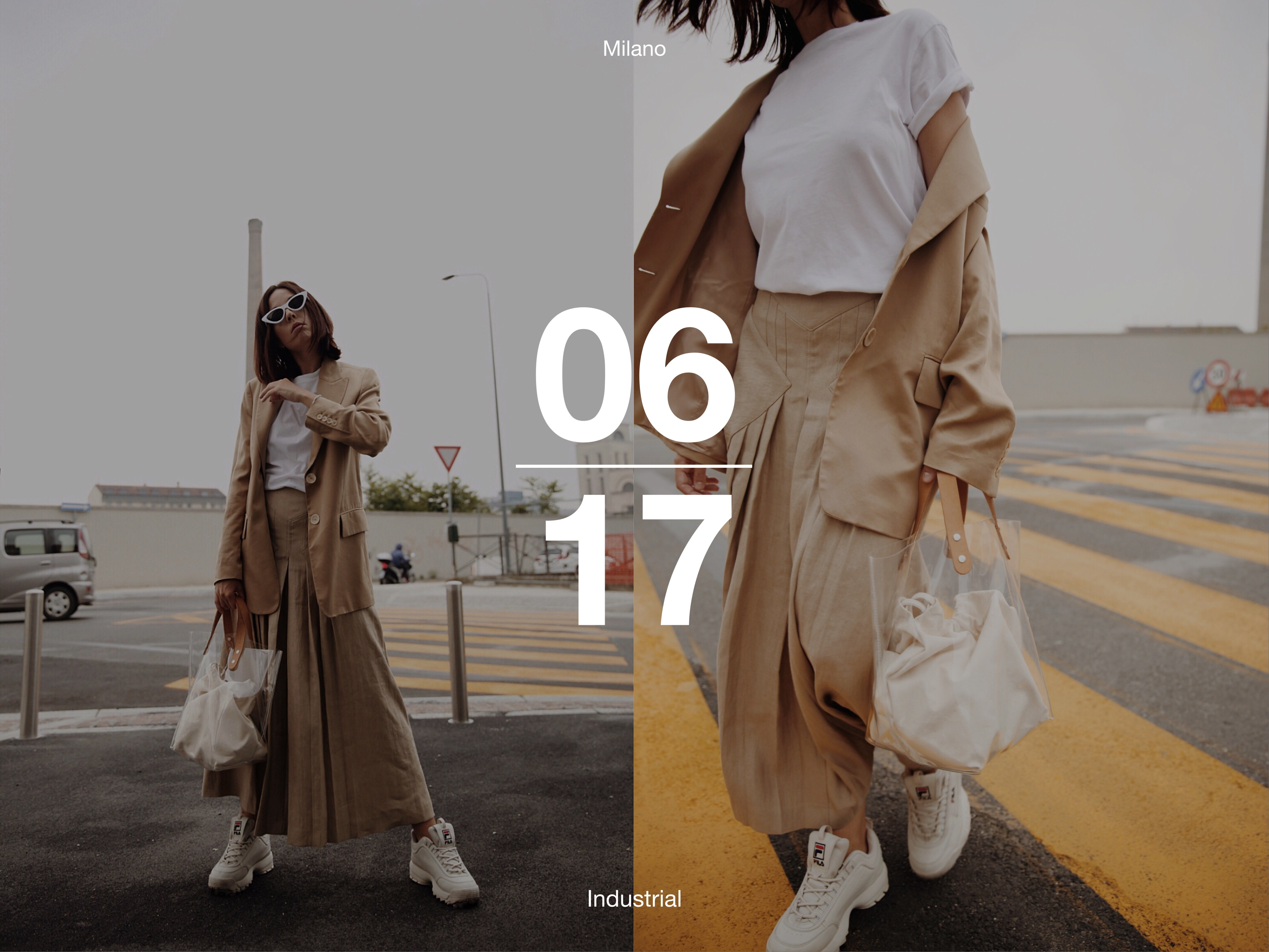Streetwear culture, theladycracy.it, massimo dutti outfit 2018, fila scarpe outfit 2018, outfit estate 2018, minimal blogger 2018, beige aesthetic, fashion editorial blog 2018, elisa bellino, come vestirsi milano 2018