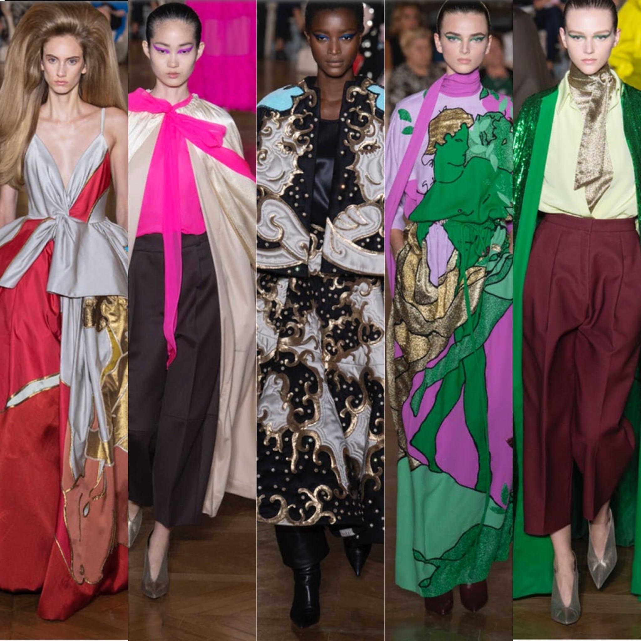 Paris haute couture luglio 2018, Valentino Haute couture