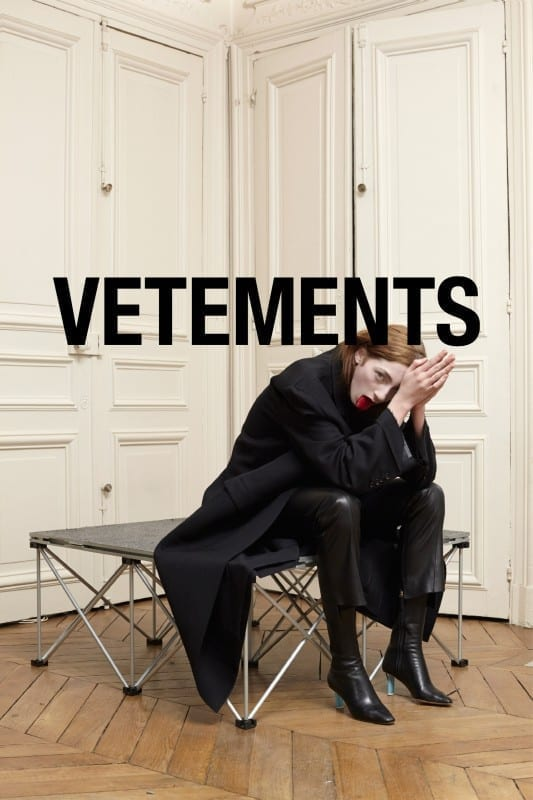 vetements non vende, fine di vetements
