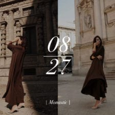 Fashion editorial | Monastic | No text