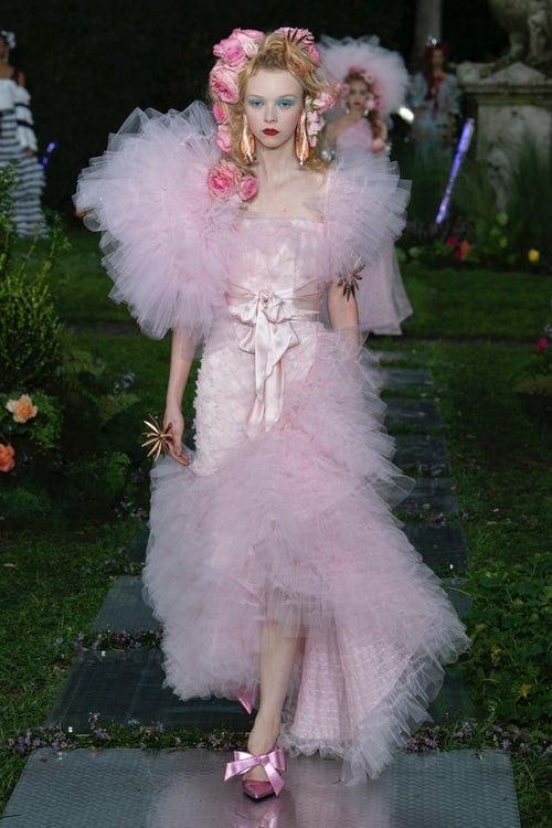 Rodarte ss 2019, new york fashion week settembre 2018
