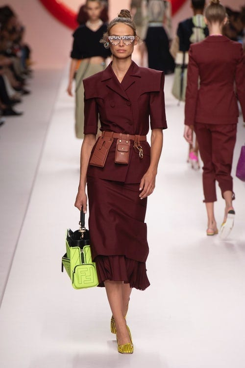 Fendi ss 2019, Milano fashion week 2019