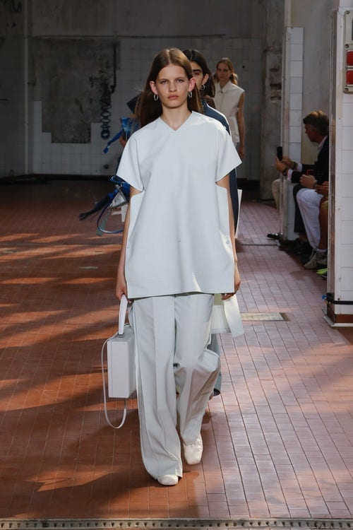 Milano fashion week 2019, jil sander ss 2019