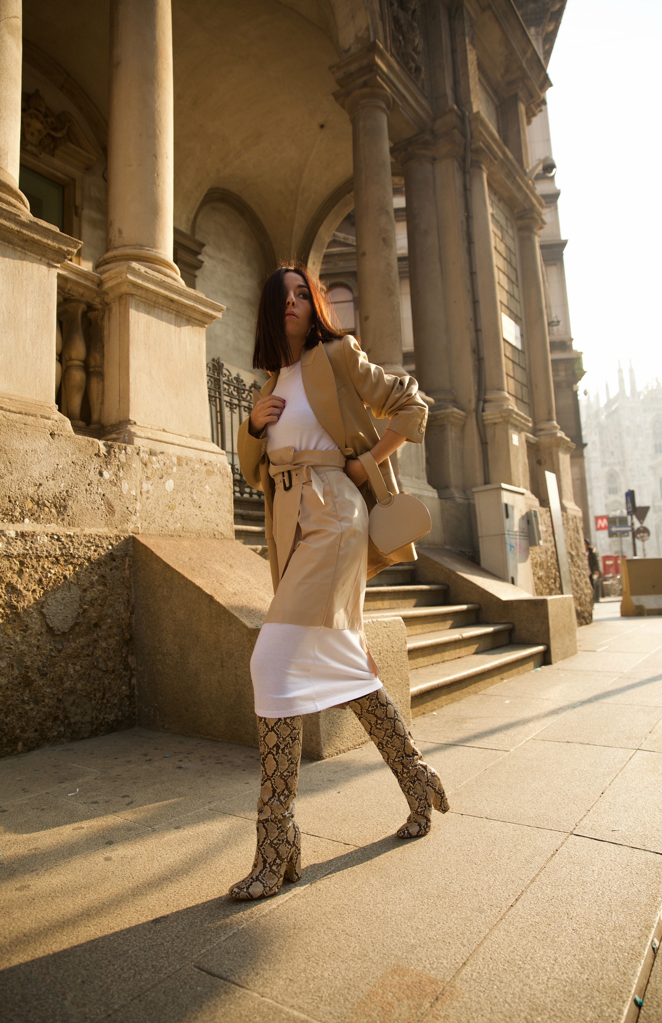 fashion editorial, elisa bellino, fashion blogger italiane 2019, fashion blog italia 2019, beige aesthetics, minimal style outfit, luxury blogger milano 2019