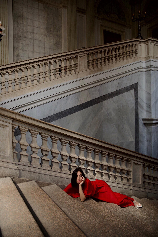 come abbinare abito rosso, elisa bellino, fashion blogger italiane 2019, fashion blogger milano, fashion blogger outfit 2019, slip dress outfit, magali pascal dress, streetstyle milano 2019, come vestirsi aperitivo milano 2019