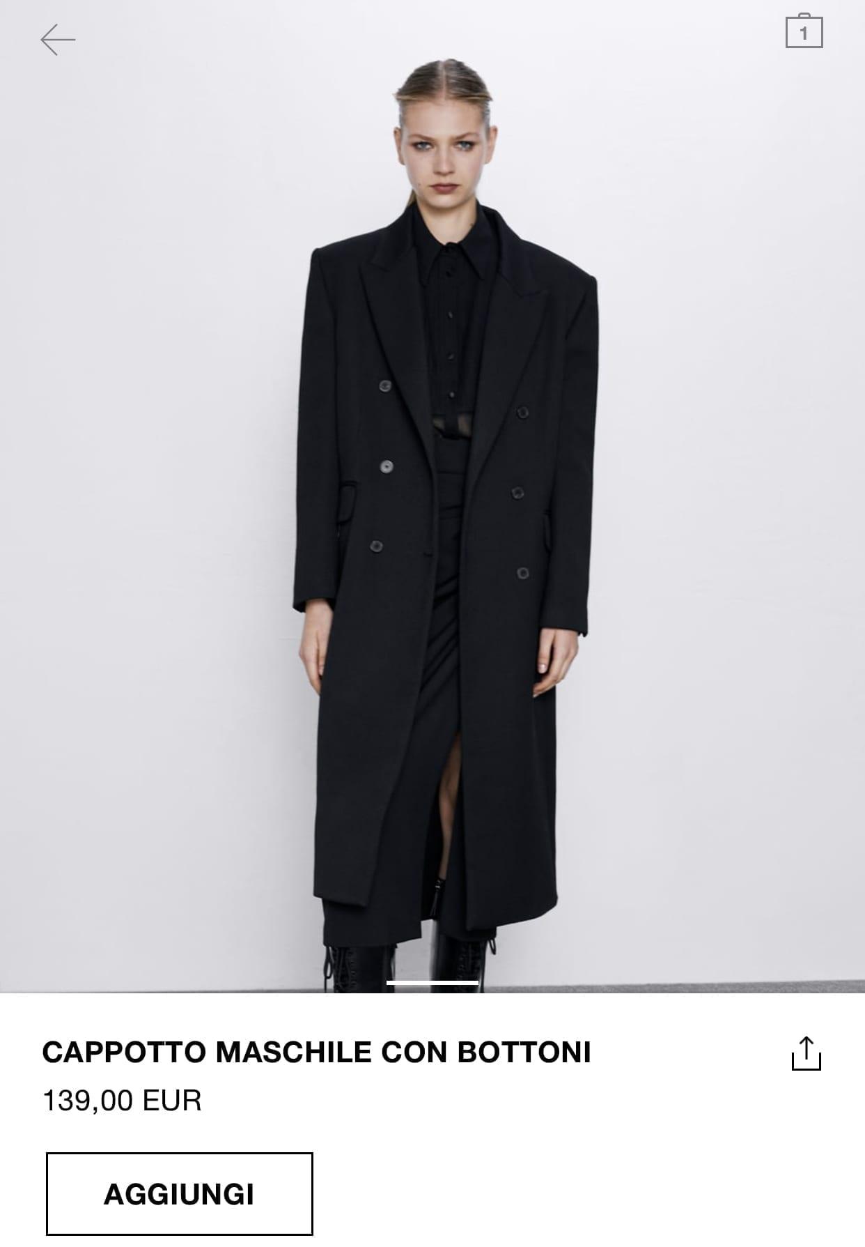 cosa comprare da zara autunno 2019, cappotto zara 2019, come vestirsi minimal chic