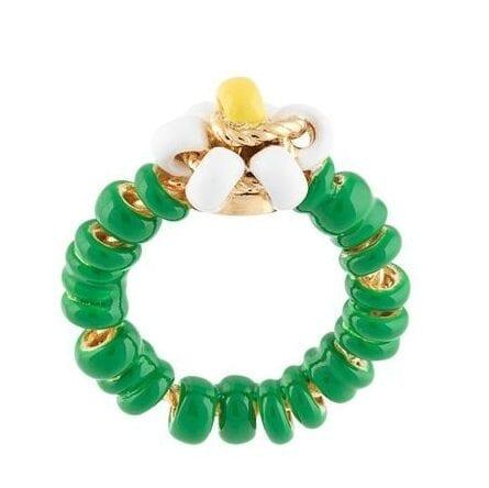 la collana di perline colorate balenciaga