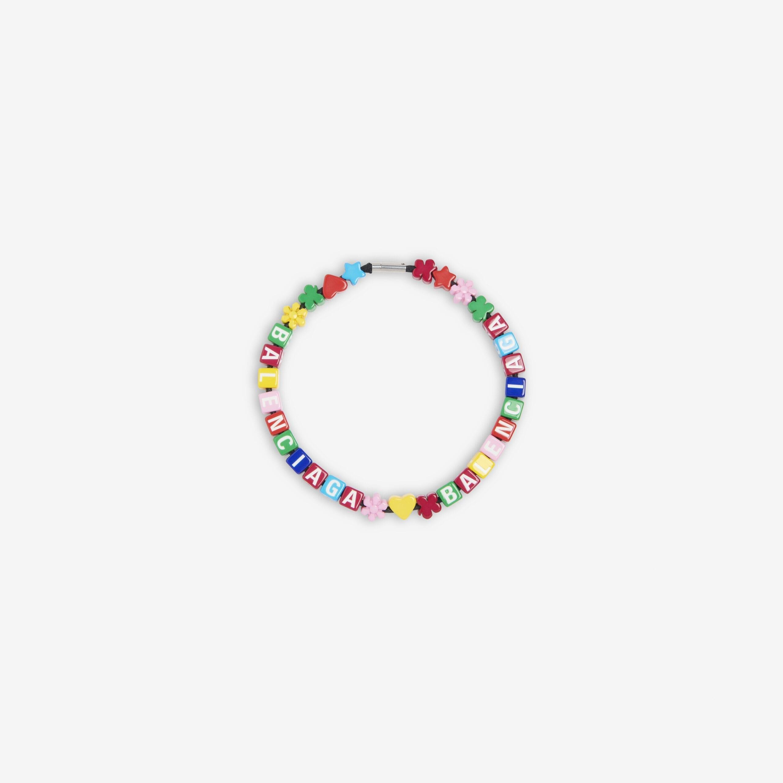 la collana colorata di balenciaga a 595 euro