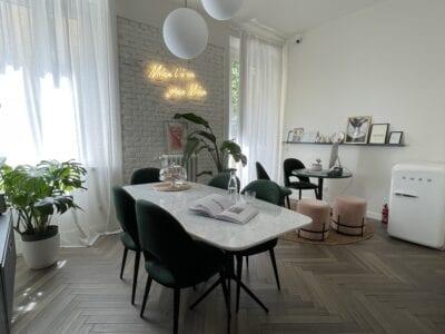 living room design minimal chic, cà bèla