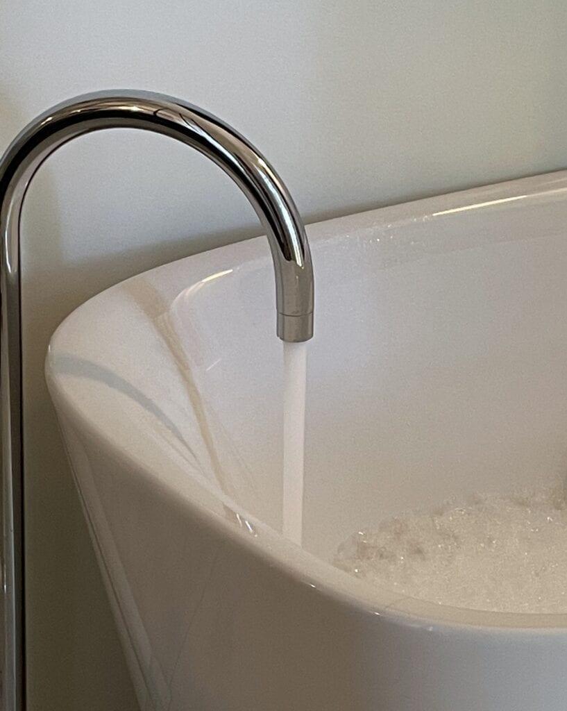 vasca da bagno design minimale