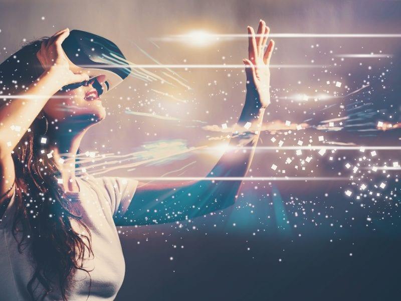 mondo virtuale interattivo